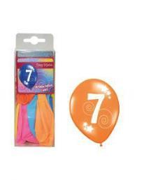 ballonnen 7 jaar 12 st
