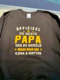 t-shirt beste papa