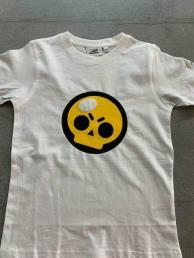 Brawl stars t-shirt wit logo