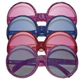 Bril disco glitter
