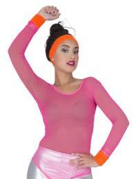 Zweetbandjes 3st neon oranje