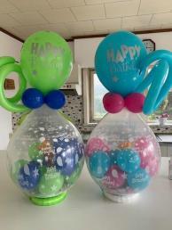 Cadeauballon met snoep (prijs per ballon)