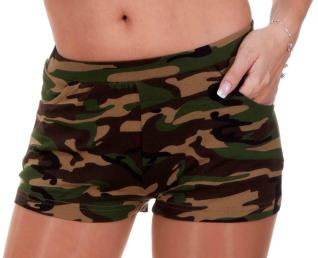 Hotpants / shortje camouflage