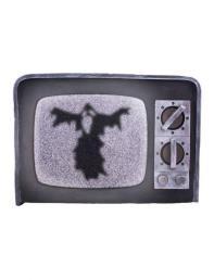 Horror tv licht en geluid