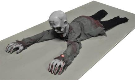 Crawling ghost (met licht/geluid/beweging)