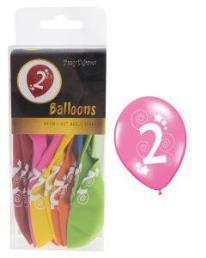 ballonnen 2 jaar 12 st