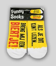 funny socks biertje