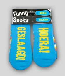 funny socks geslaagd