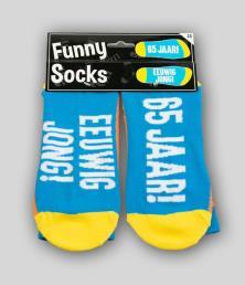 funny socks 65 jaar