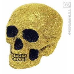 schedel goud 18 cm