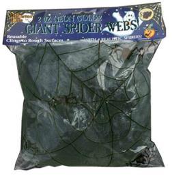 Spinnenweb zwart 50g