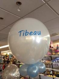 ballon bedrukt (twee zijden)