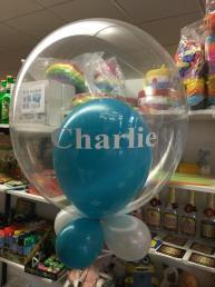 Ballon 2 in 1  dubbel bedrukt