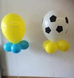 ballon met kraagje (helium, formaat 11 inch)