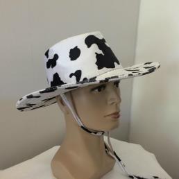 Cowboyhoed fluweel koe