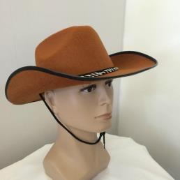 Cowboyhoed bruin vilt