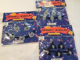 Spooky juwelenset (glow in the dark)