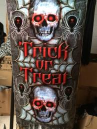 Banner Trick or treat