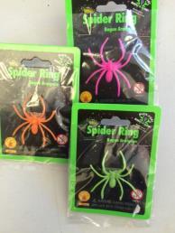 Spider ring (uv glow)