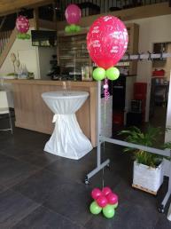 middelgrote ballon helium, afgewerkt