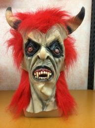 Horror masker hoorns
