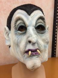 Masker dracula wit