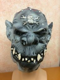 horror masker grijs