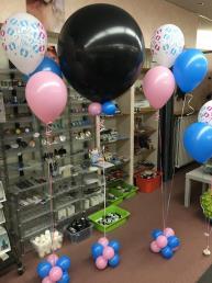 Tros gender reveil 3 ballonnen