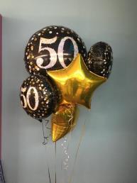 Tros folieballonnen 50 jr