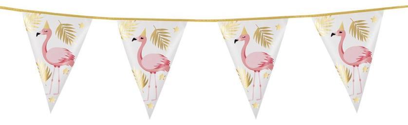 vlaggenlijn flamingo 4 mtr