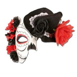 Dodenmasker bloemen