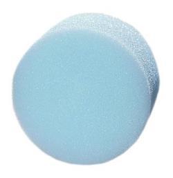 make up sponsje blauw
