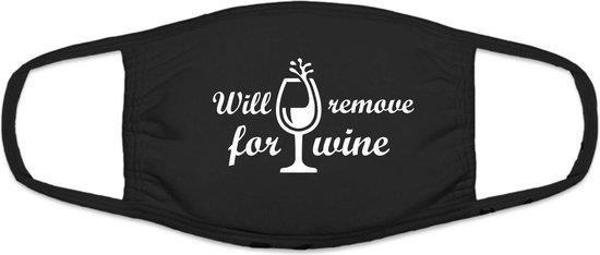 mondkapje wijn