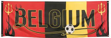 Banner België (220x74 cm)