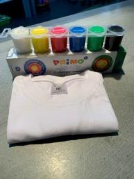 Tie dye pakket klein (kleurenset + 1 t-shirt)