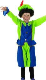 Piet pakje groen/blauw