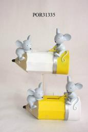 Spaarpot muisjes liggend