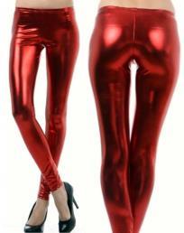 Legging lang rood