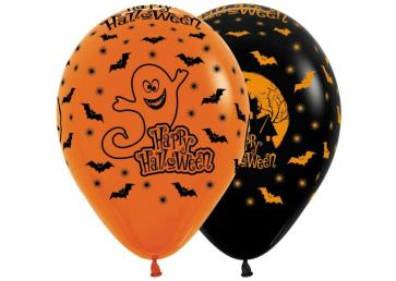 ballonnen halloween 12st