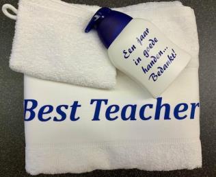 pakket handdoek/washand/handzeep