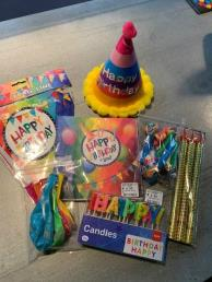 Pakket verjaardag algemeen