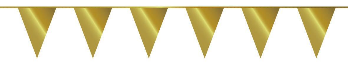 Vlaggenlijn goud 5 m