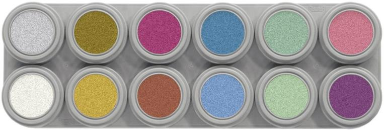 Water make up pearl palet 12 st