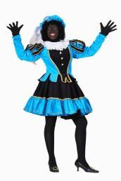 Piet Murcia zwart/turquoise